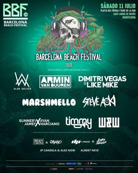 BBF: Barcelona Beach Festival 2021